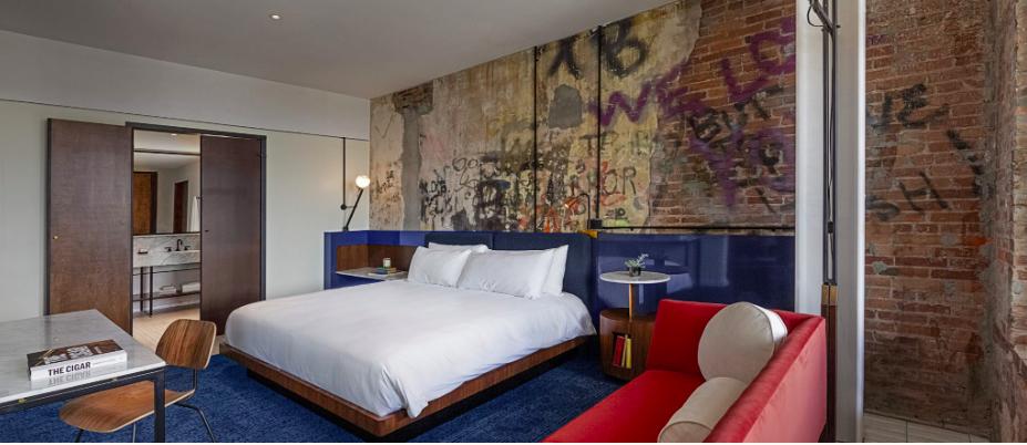 Hotel Haya in Ybor City, Tampa, Florida