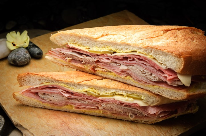 Cuban sandwich at The Floridian in Tampa, Florida