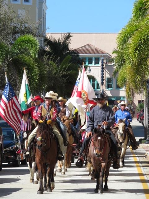 Florida Cracker Trail Ride arrives into Fort Pierce