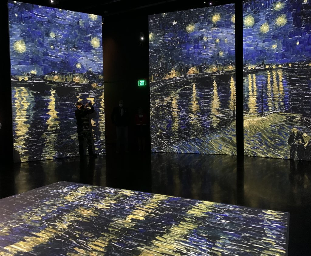 Vincent Van Gogh in Florida at the Dali Museum in St. Pete