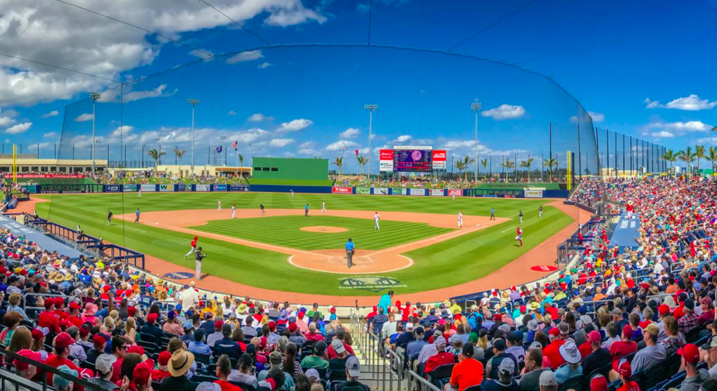 Spring Training in Florida is in full swing