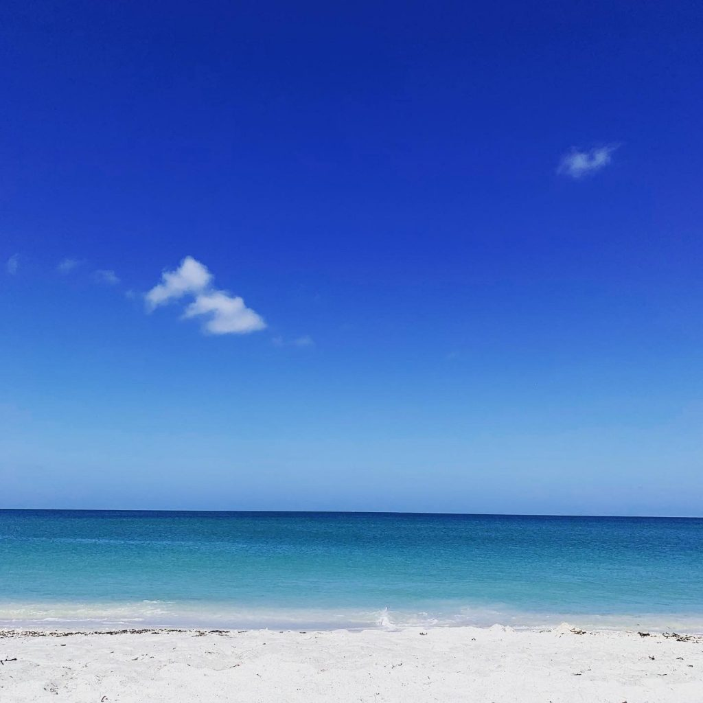 The beach is one of 5 fun things to do on Gasparilla Island.