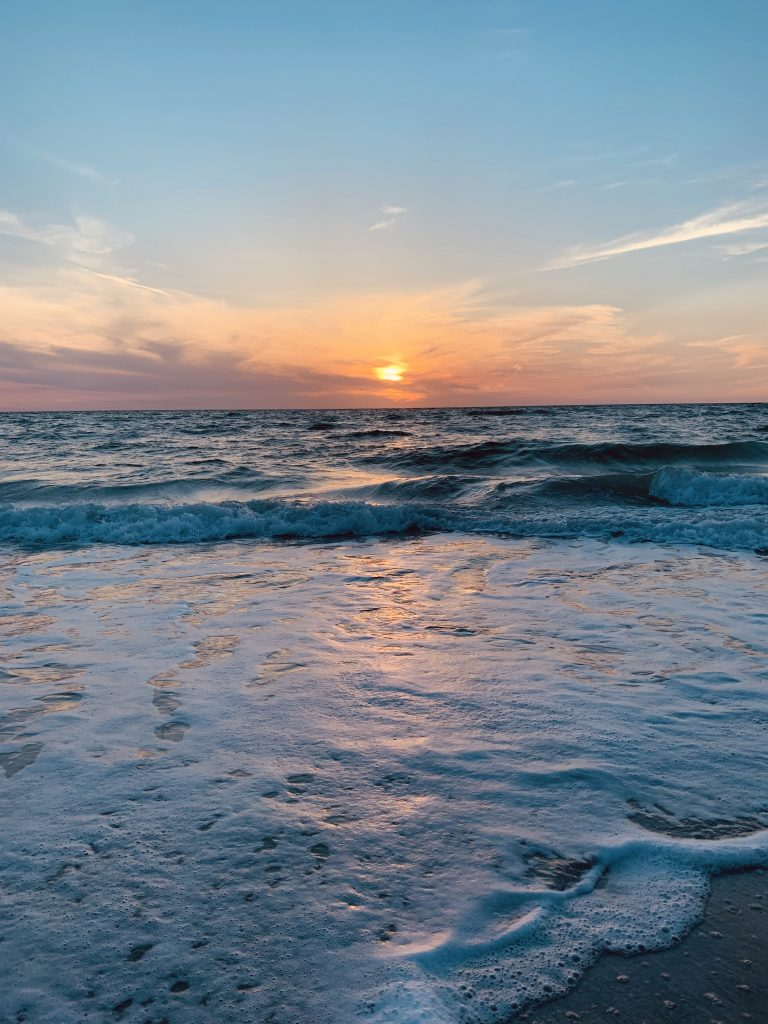 sunset on Gasparilla Island